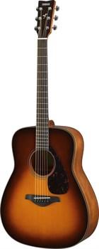 Акустическая гитара Yamaha FG800 BROWN SUNBURST - фото 18409