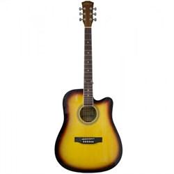 Акустическая гитара Elitaro E4110C SB - фото 22358