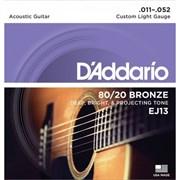 D'addario EJ13, вакуумная упаковка, 11 - 52
