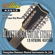 Струны для 12-струнной гитары ALICE A2012