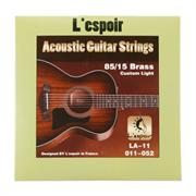 L'espoir LA11- струны для акустической гитары 11-52