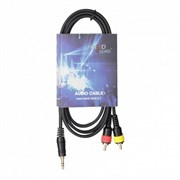 HardCord ARC-15 аудио кабель mini джек стерео-2 RCA 1.5m