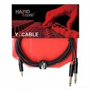 HardCord AJS-30 аудио кабель mini джек стерео-2 Jack mono 3m