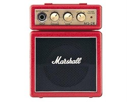 MARSHALL MS-2R-E MICRO AMP (RED) - фото 17025