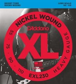 Струны для бас-гитары D'ADDARIO EXL230 - фото 17343