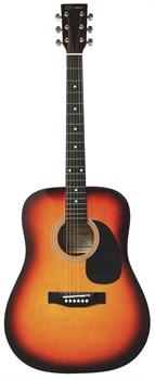 Акустическая гитара Caraya F600-BS Карая - фото 17417