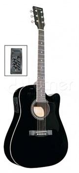 Акустическая гитара Caraya F641EQ-BK Карая - фото 17423