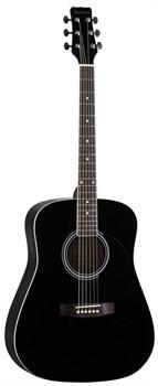 Акустическая гитара MARTINEZ W-11/BK - фото 17828