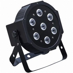 LIGHTING Par 7 4-10w black - фото 17866