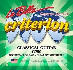 Нейлоновые струны La Bella C750 - фото 17928