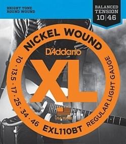 Струны для электрогитары D'Addario EXL110BT