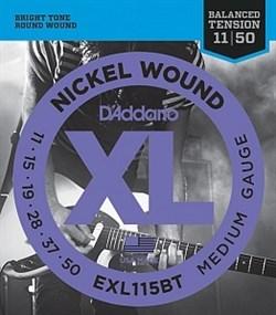 Струны для электрогитары D'Addario EXL115BT