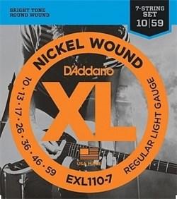 Струны для электрогитары D`Addario EXL110-7 - фото 17934
