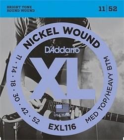 Струны для электрогитары D`Addario EXL116 - фото 17935