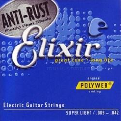 Струны для электрогитары ELIXIR 12000 - фото 17958