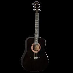 HOHNER HW-220BK - Акустическая гитара Хонер - фото 18170