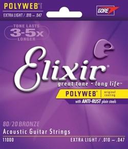 Струны металлические ELIXIR 11000 - фото 18208