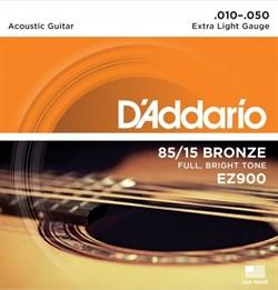 Струны металлические D'ADDARIO EZ900