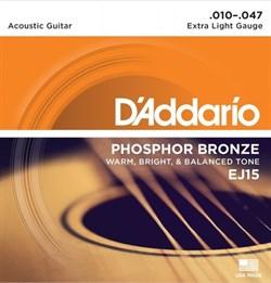 Струны металлические D'ADDARIO EJ15
