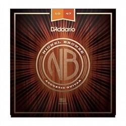 Струны металлические D'ADDARIO NB1047 - фото 18216