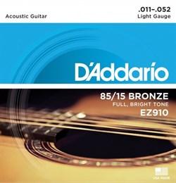 Струны металлические D'ADDARIO EZ910 - фото 18217