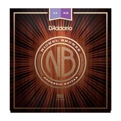 Струны металлические D'ADDARIO NB1152 - фото 18221
