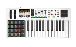 midi-клавиатура 25 клавиш, пэды, фэйдеры