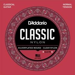 Струны для классической гитары D'addario EJ27N
