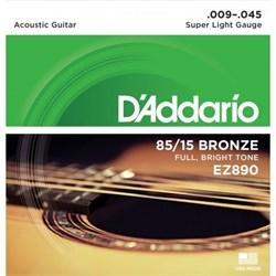 Струны для акустики D'addario EZ890