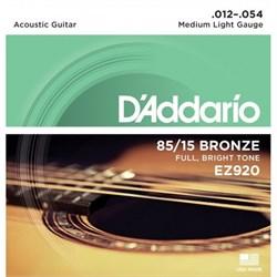 Струны металлические D'ADDARIO EZ920 - фото 21443