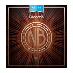 Струны металлические D'ADDARIO NB1253 - фото 21470