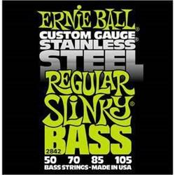 Струны для бас-гитары ERNIE BALL 2842 - фото 21554