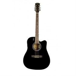 Акустическая гитара Elitaro E4010EQ BK Элитаро - фото 21872