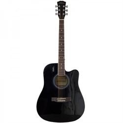 Акустическая гитара Elitaro E4110C BK Элитаро - фото 22352