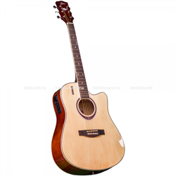 Акустическая гитара JAM DE-100NTG Джем - фото 22991