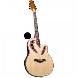 Электроакустическая гитара JAM FLAME-NA Джем - фото 22997