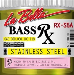 Струны для бас-гитары La bella RX-S5A RX - фото 23173
