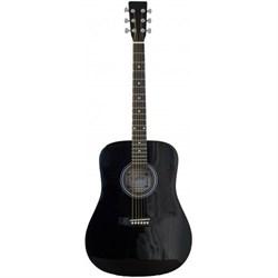 Акустическая гитара Fabio SA105 BK ФАБИО - фото 23461