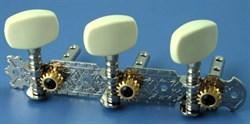 Alice LOD-017A комплект универсальной хромированной механики 40мм - фото 24086