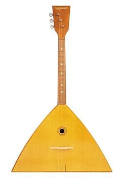 Балалайкеръ 3S-ST Спутник-Т Балалайка традиционная, трехструнная, улучшенная отделка - фото 24155