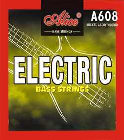 ALICE A608(4)-M Medium Комплект струн для бас-гитары 045-105 - фото 24203