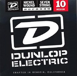 DUNLOP DEN1056 Комплект струн для 7-струнной электрогитары