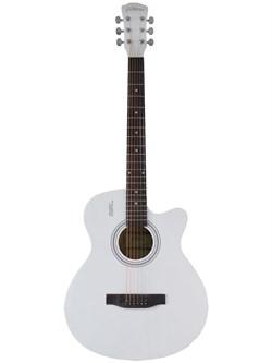 Elitaro L4010 WH акустическая гитара белая - фото 24245