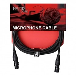 HardCord MSX-30 микрофонный кабель XLR-XLR 3m - фото 24281