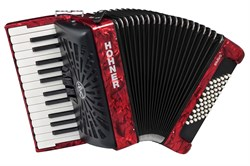 Аккордеон 1/2 HOHNER Bravo II 48 red - фото 24557