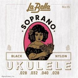 LA BELLA Ukulele 15 - Струны для укулеле сопрано - фото 24855