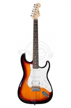 Homage HEG320SB Электро-гитара Strat - фото 25091