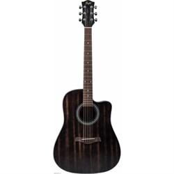 FLIGHT D-155C MAH BK акустическая гитара Флайт - фото 25157
