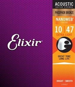 Струны металлические ELIXIR 16002 - фото 25437