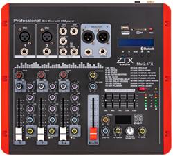 ZTX audio Mix 2.1.Fx микшерный пульт